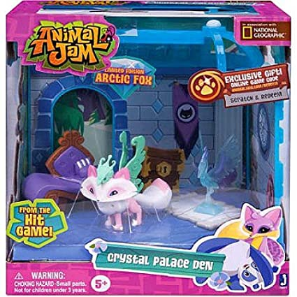 Image of: Wildworks Image Unavailable Animal Jam World Amazoncom Animal Jam Crystal Palace Den Exclusive Playset limited