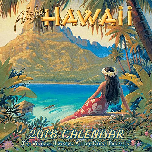 Cheap 2018 Aloha Hawaii Wall Calendar for cheap