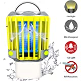 RUNACC Bug Zapper Camping Lantern LED Flashlight Bug Zapper - Portable IP66 Waterproof Outdoor Tent Light Camp Lamp with…