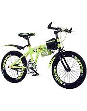 Bicicleta Plegable Infantil, Bicicleta Plegable Estudiante Los Niños De Bicicleta Plegable Ultra Ligh Bicicleta De