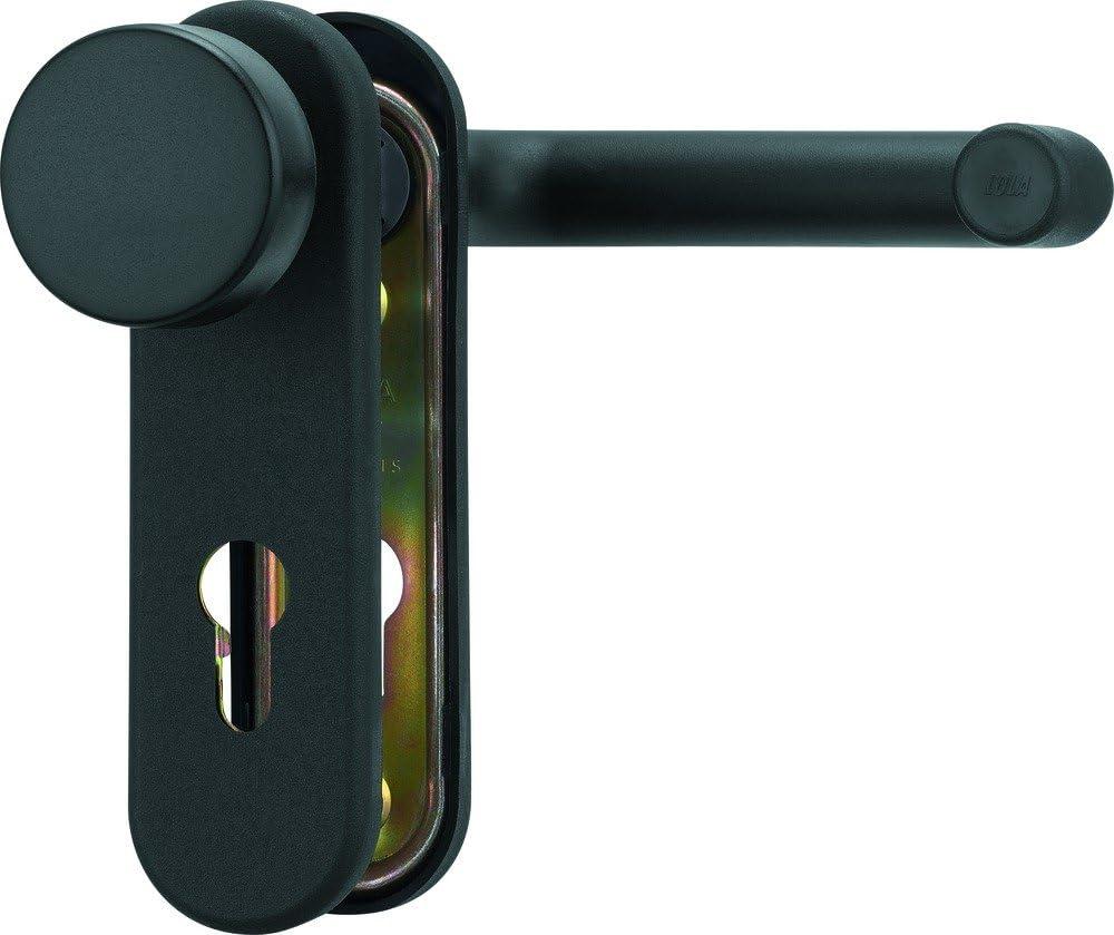 ABUS 279782 - Placa para empujar para puertas: Amazon.es: Bricolaje y herramientas