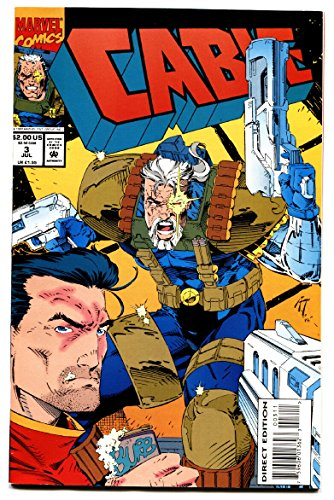 CABLE #3 1993 comic book 1st appearance of WEASEL Deadpool movie]()