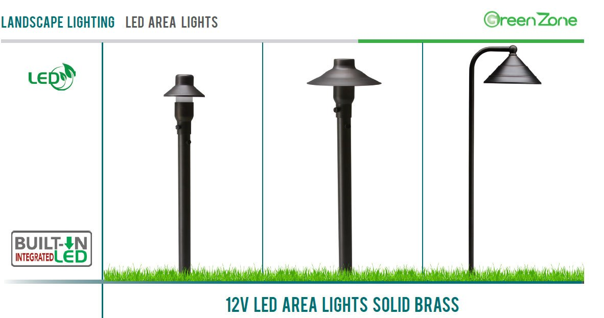 Westgate Lighting LED Landscape Area Light-Emits 200 Lumens of Brightness-Integrated SMD LED Tower Light Source-Heavy Duty Clear Glass Lens - 20'' Height-Integrated LED Outdoor Light (12) by Westgate