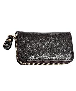 Zhhlinyuan Fashion Leather Wallet Purse Pouch Bag Zipper Key Case Card Holder 7 Color