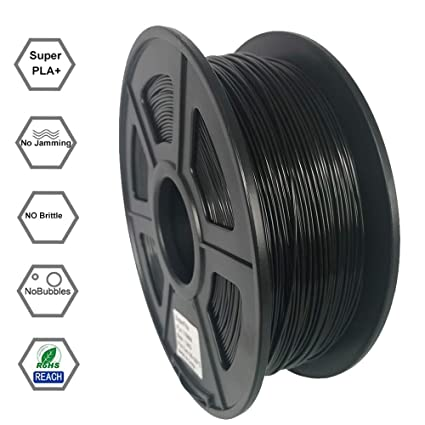 Superfila PLA 3D Printer Filament for Ender 3/Ender 3 Pro, Dimensional  Accuracy +/- 0 03 mm, 1 kg Spool, 1 75 mm, Black