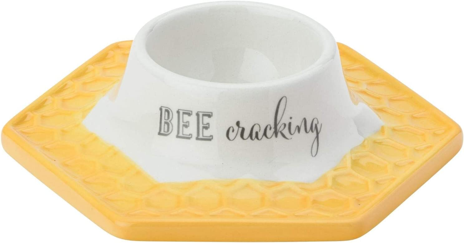 English Tableware Company Bee Happy Egg Cup Saucer Plate Serveware