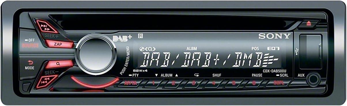 Sony Cdxdab500u Dab Dab Autoradio Cd Tuner Aux In Usb