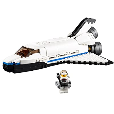 LEGO Creator Space Shuttle Explorer 31066 Building Kit (285 Piece): Toys & Games