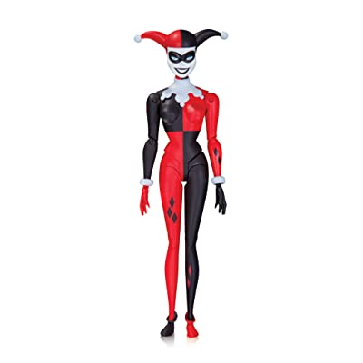 DC Collectibles Batman: The Animated Series: Harley Quinn Action Figure: Toy: Toys & Games