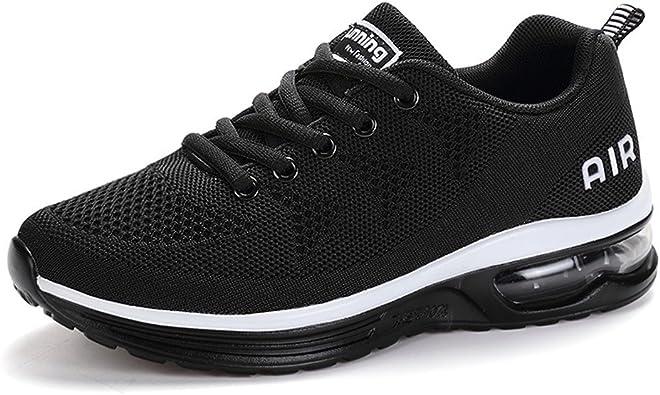 Axcone Hombre Mujer Zapatillas de Correr Casual Aire Libre Deporte Fitness Zapatillas de Running para Deportivos Entrenamiento: Amazon.es: Zapatos y complementos