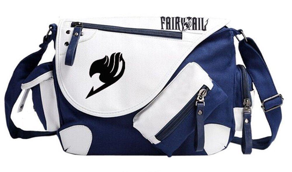 Siawasey Fairy Tail Anime Cosplay Handbag Messenger Bag Backpack Shoulder Bag