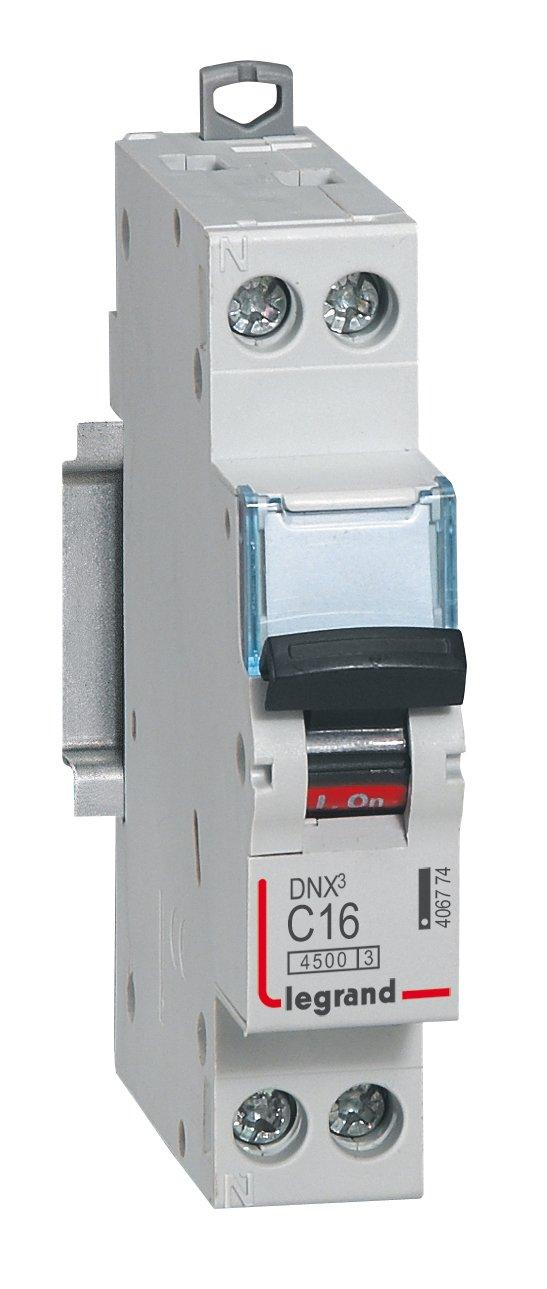 Legrand 406400 Interrupteur-sectionneur DX³-IS 1P 250V~ - 16A - 1 module product image