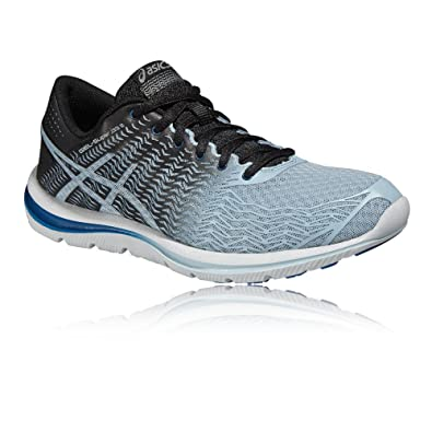 Asics Gel-Super J33 2 Chaussures de Running Femme, Bleu/Noir, 43.5