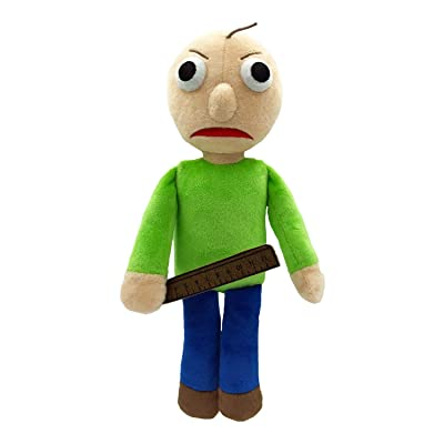 "Baldi's Basics 7"" Collectable Plush (Angry Baldi): Toys & Games"