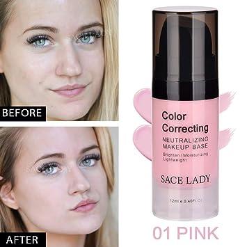 Moresave Gesicht Farbe Corrector Moisturizer Creme Basis Makeup