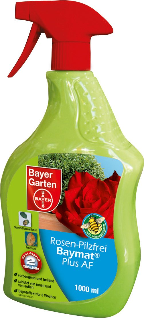 Bayer Garten Rosen Baymat Plus AF Pilzbekämpfung, Farblos, 1000 ml SBM Life Science GmbH 80268157