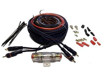 xtremeauto® Komplett 8 AWG Auto Audio, Ice Verstärker Verkabelung ...