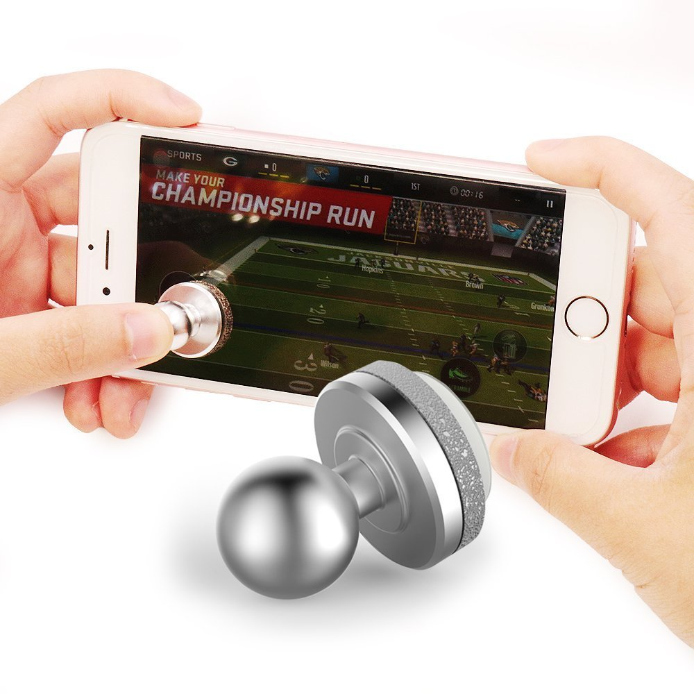 Zero Touch Screen Phone Game Joystick Suction Cup Arcade Controller For Phone