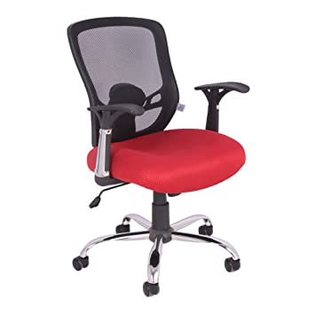 Office Chair In Bluefin Mesh Armrests Swivel Chair Executive Chair
