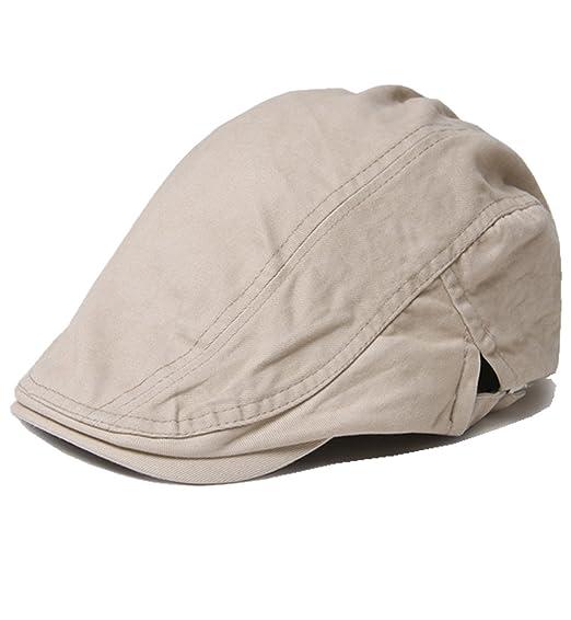 Funjoy Men s Cotton Flat Cap IVY Summer Driving Caps Hunting Hats at Amazon  Men s Clothing store  b8f5b30cdd3
