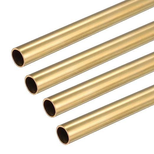 7mm Outside Diameter x 6mm Inside Diameter 500mm Copper Round Tube Pipe