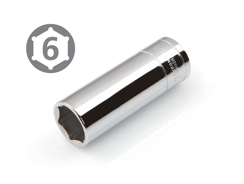 TEKTON 14185 3//8-Inch Drive by 13//16-Inch Deep Socket Cr-V 6-Point