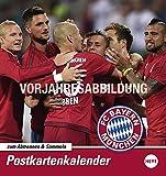 FC Bayern München Sammelkartenkalender - Kalender 2017