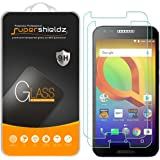 """[2-Pack] Supershieldz For Alcatel """"A30"""" Tempered Glass Screen Protector, Anti-Scratch, Anti-Fingerprint, Bubble Free, Lifetime Replacement Warranty"""