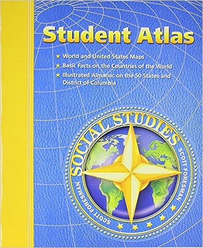 Student Atlas Scott Foresman Social Studies