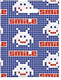 Practicon 1109688 Smile Invaders Scatter Print Bags, 8'' x 10'' (Pack of 100)