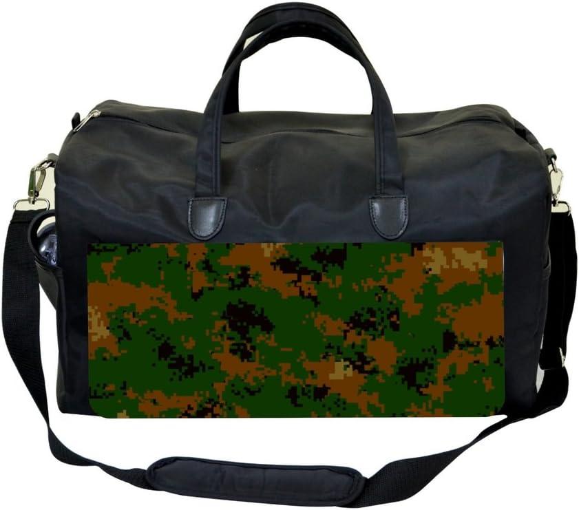 Camo Print Weekender Bag