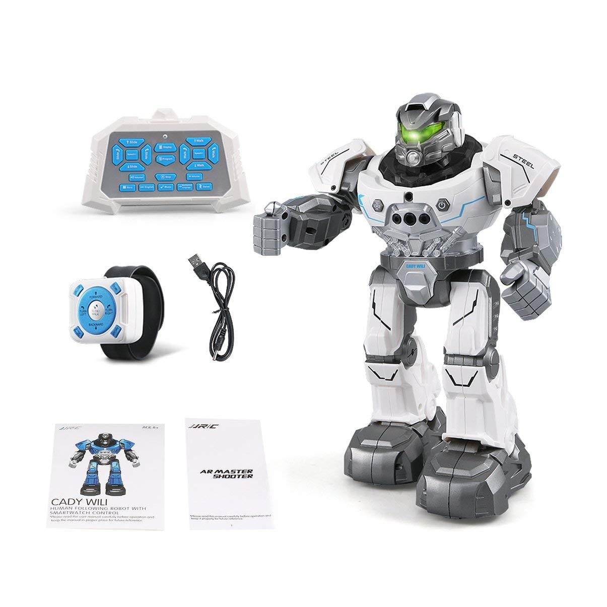JullyeleDEgant JJR / C R5 Cady WILI Intelligente Roboterfernsteuerung Programmierbar Auto Folgen Geste Sensor Music Dance RC Spielzeug Kinder Geschenk
