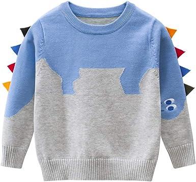 POLP niño Invierno Unisex Camiseta de Manga Larga para niños Otoño Invierno Bebe Niña Pulóver Camisa de Fondo Jersey para niños Blusa Sudadera para Bebés Suéter Ropa Deportiva Gruesa Ropa Caliente: Amazon.es: