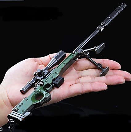 Easybuy Game Pubg Awm Sniper Rifle Alloy Gun Model Playerunknown Battlefield