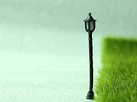 Strade lampada 5 in resina diy da giardino casa delle bambole