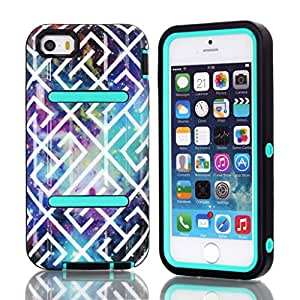 iPhone 5 case,iPhone 5S.case,Creativecase iPhone 5.Case,iPhone 5S.Case,iPhone 5 5S Case for girls with beautiful picture and 3in1 [hybrid design]iPhone 5 5S Case Cover for iPhone 5 5S 5G #J9
