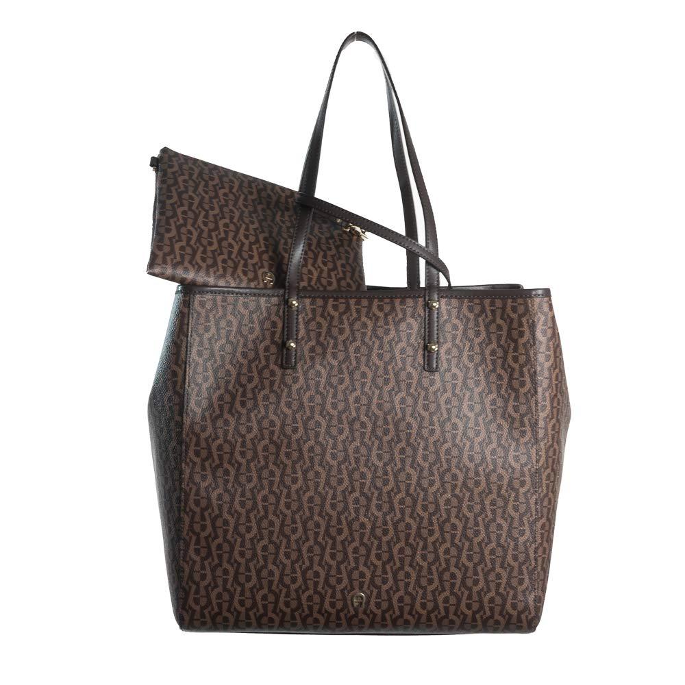 Aigner Shopper Zoe 137025 00 0060 Braun B07MT4DVV7 Shopper