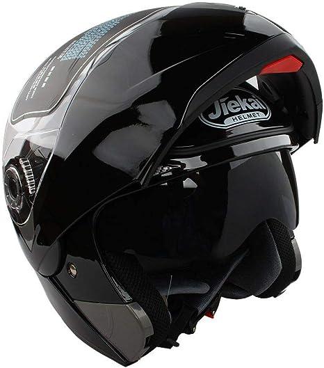 Amazon.es: Estink - Casco de moto, casco integral plegable de moto, con visera, aprobado por DOT, departamento de transporte