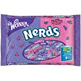 Wonka Nerds Grape Strawberry Candy, 12-Ounce Bags (Pack of 6)