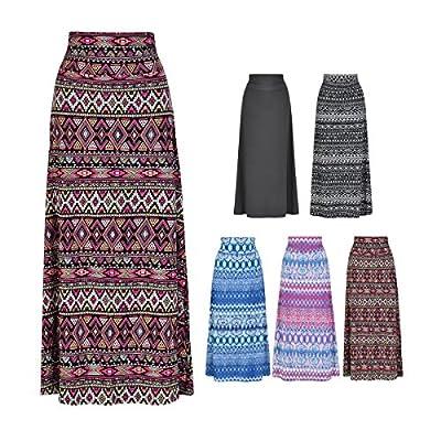 Howriis Women's Lightweight Floor Length Maxi Skirt Dress