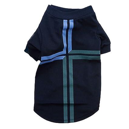 Camiseta del fútbol del Animal doméstico Jersey del Deporte del suéter del Perro de la Taza de Mundo 2014 para Portugal . (Size : S(10.6*13.0*8.7) ...