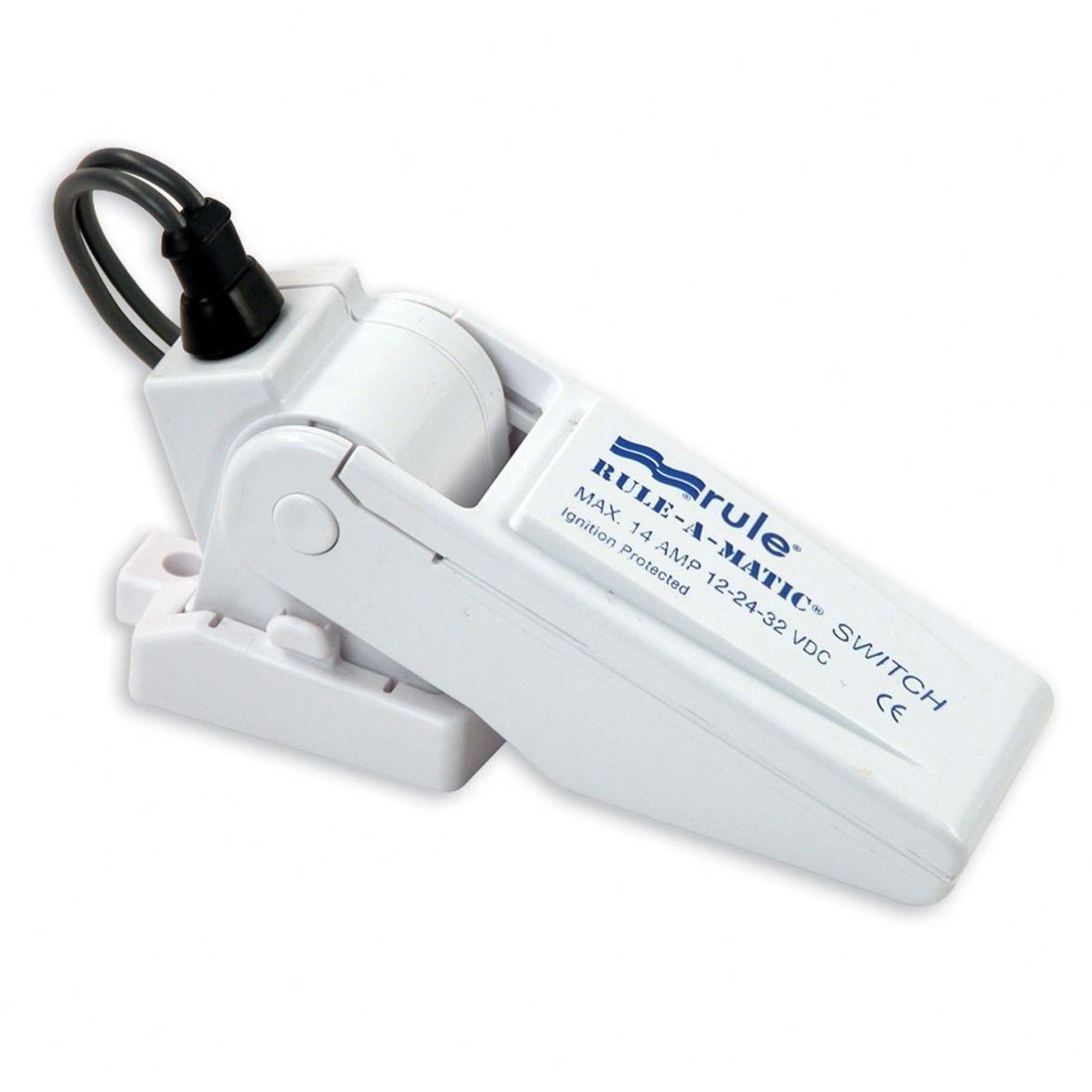 Rule 35A Rule-A-Matic Bilge Pump Float Switch, Mercury Free