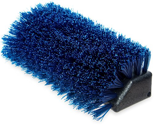 Carlisle 4042514 Commercial Boot 'N Shoe Brush Replacement, Blue (Pack of 12) (Carlisle Replacement Parts)