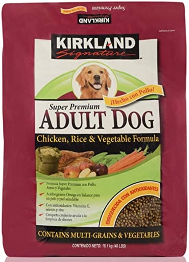 Kirkland Signature Dog Food Variety Chicken