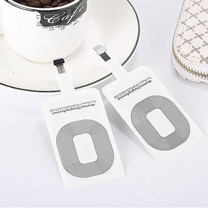 Teepao Qi - Receptor de carga inalámbrico para iPhone 7/7 ...