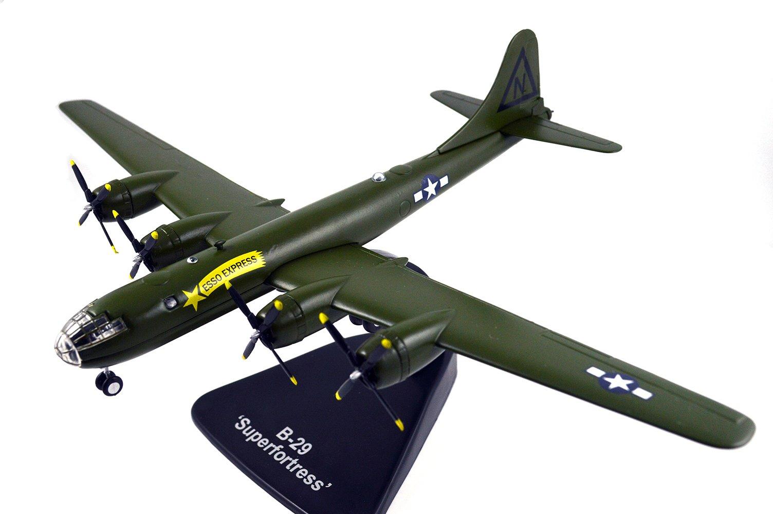 FLOZ USA SUPERFORTRESS B-29 Aircraft 1:144 die cast Plane Pre-Assembled Model Vehicle
