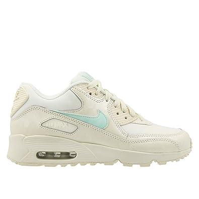 reputable site 22056 7f8af Nike - Air Max 90 Mesh GS - 833340107 - Color Cream-White -