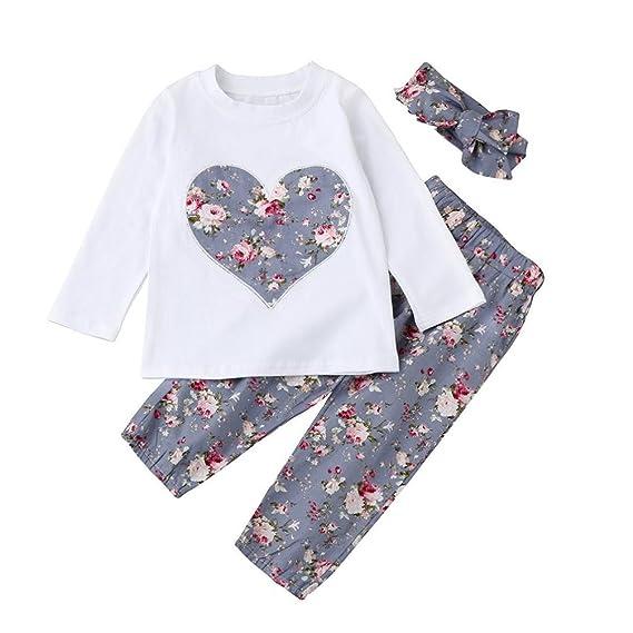 23da17b9e Ropa Bebe Niña Invierno Otoño de 0 a 24 meses SMARTLADY Bebé Niñas  Camisetas de manga