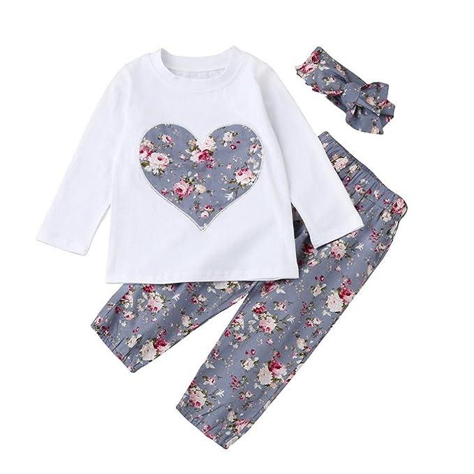 c204af1d20e73 Ropa Bebe Niña Invierno Otoño de 0 a 24 meses SMARTLADY Bebé Niñas  Camisetas de manga