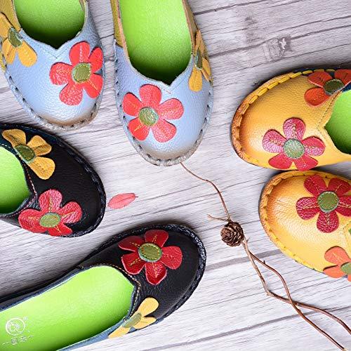 Jaune EU coloré ZHRUI Gris Taille 40 Chaussures SW0vw4qwY